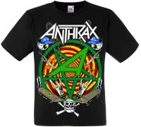 Футболка Anthrax Caught In A Mosh