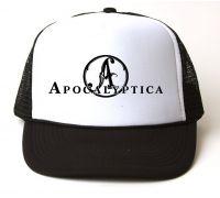Кепка-тракер Apocalyptica - Logo (чёрная с белым лбом)