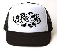 Кепка-тракер The Rasmus - Leaf Logo (чёрная с белым лбом)