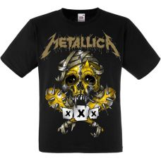 "Футболка Metallica ""Skull"" (yellow)"