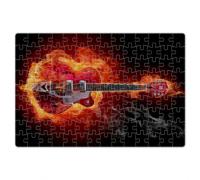 Пазл Guitar Fire