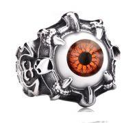 """Кольцо """"Глаз"""" (коричневый цвет)"""