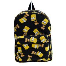 """Рюкзак """"Барт Симпсон"""" (чёрный)"""