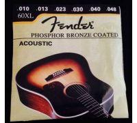 """Струны для акустической гитары """"Fender """" (6 шт.)"""