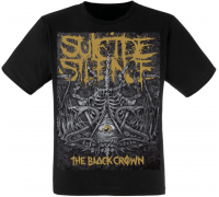 "Футболка Suicide Silence ""The Black Crown"""