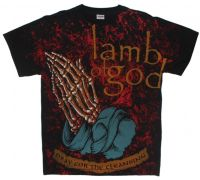 "Футболка Lamb Of God ""Pray For The Cleansing"""