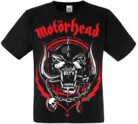 "Футболка Motorhead ""Everything Louder Than Everyone Else"""