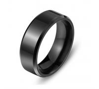 Кольцо классическое (чёрный цвет)