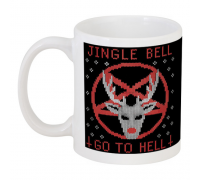 Кружка Jingle Bell Go To Hell
