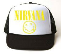 Кепка-тракер Nirvana