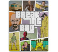 Коврик для мышки Breaking Bad - GTA Style