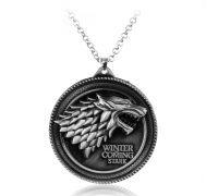 Кулон Game Of Thrones - Stark Family