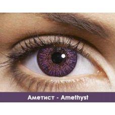 Линзы контактные аметист Amethyst + контейнер в ПОДАРОК