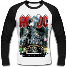 "Футболка с длинным рукавом AC/DC ""Black Ice"" (train)"