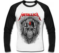 Футболка с длинным рукавом Metallica (spider)