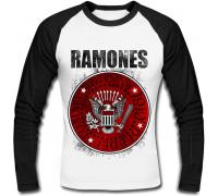 Футболка с длинным рукавом Ramones (red)