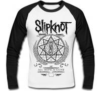 Футболка с длинным рукавом Slipknot (gray)
