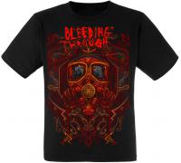 Футболка Bleeding Through (mask)