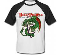 Футболка двухцветная Deep Purple - The Battle Rages On