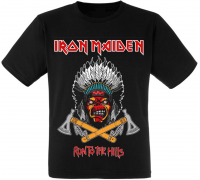 "Футболка Iron Maiden ""Run To The Hills"""
