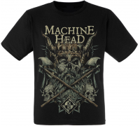 Футболка Machine Head (viking with axes)