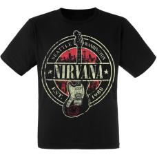 "Футболка Nirvana ""Seattle Washington 1988"""