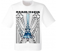"Футболка Rammstein ""Paris"" (белая)"