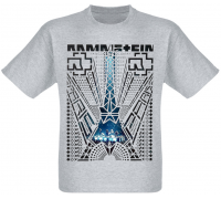 """Футболка Rammstein """"Paris"""" (меланж)"""