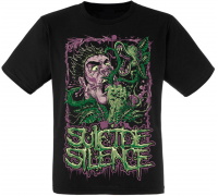 Футболка Suicide Silence (mad plants)