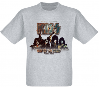 Футболка Kiss - End Of The Road - World Tour (меланж)