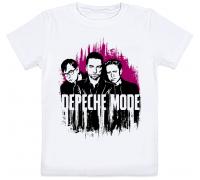Детская футболка Depeche Mode (белая)