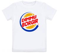 Детская футболка Dimmu Borgir - Burger King (белая)
