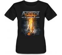 Женская футболка Accept - Symphonic Terror (чёрная)