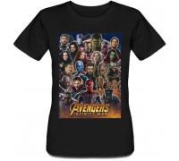 Женская футболка Avengers: Infinity War
