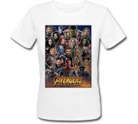 Женская футболка Avengers: Infinity War (белая)