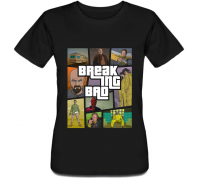 Женская футболка Breaking Bad - GTA Style