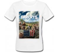 Женская футболка Far Cry 5 (белая)