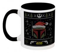 Кружка Star Wars - Boba Fett - X-MAS (чёрная)