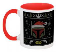 Кружка Star Wars - Boba Fett - X-MAS (красная)