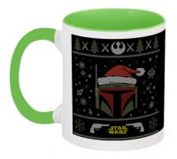 Кружка Star Wars - Boba Fett - X-MAS (зелёная)